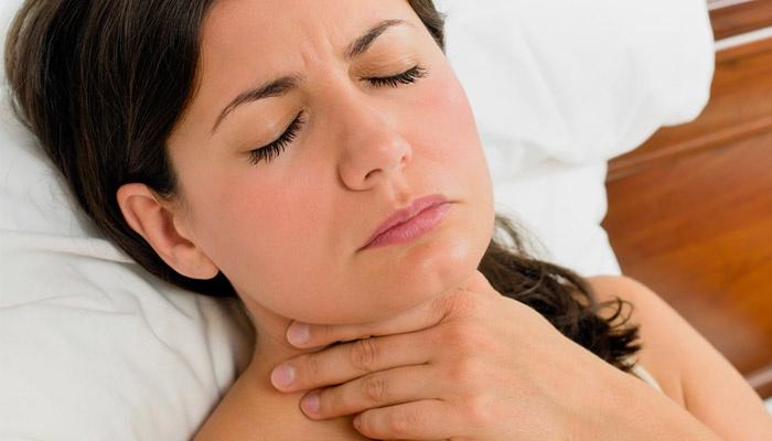 Проблемы с глотанием при всд