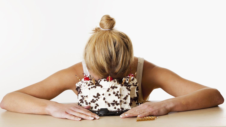 еда на фоне стресса