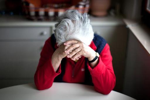 депрессия у пожилой дамы