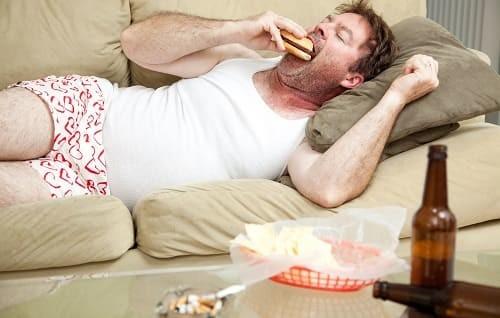 вредная пища для всд