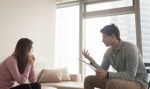 во время приступа поможет общение