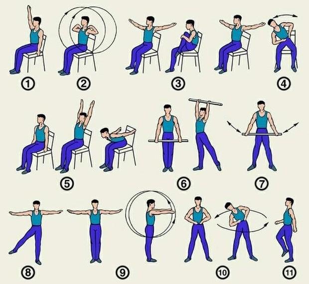 гимнастика при ВСД