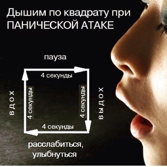 дыхание во время приступа ПА